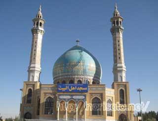 途中のモスク